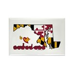 ILY Maryland Rectangle Magnet (10 pack)