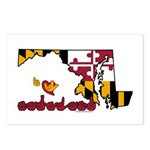 ILY Maryland Postcards (Package of 8)