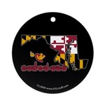 ILY Maryland Ornament (Round)