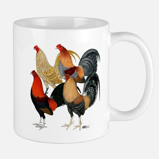 Four Gamecocks Mug
