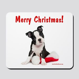 Christmas Puppy Mousepad