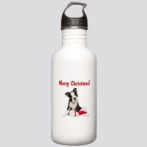 Christmas Puppy Stainless Water Bottle 1.0L