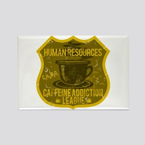 Human Resources Caffeine Addiction Rectangle Magne