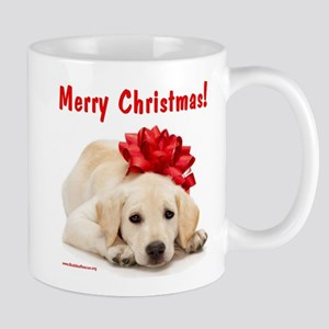 Christmas Lab Puppy Mug