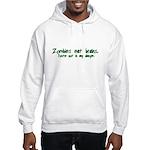 Zombies Eat Brains Hooded Sweatshirt