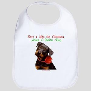 Take Me Home for Christmas Bib