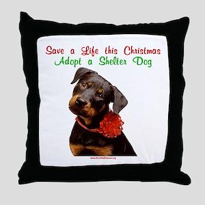 Take Me Home for Christmas Throw Pillow