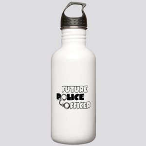 Future Police Officer Stainless Water Bottle 1.0L