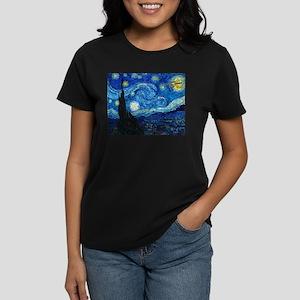 Starry Trek Night Women's Dark T-Shirt