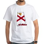 ILY Alabama White T-Shirt