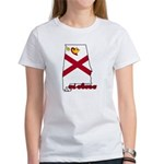 ILY Alabama Women's T-Shirt