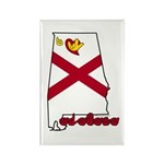 ILY Alabama Rectangle Magnet (100 pack)