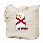 ILY Alabama Tote Bag