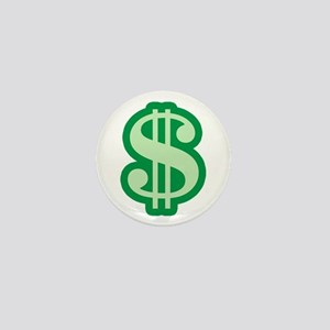 Dollar Sign Mini Button