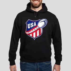 American rugby usa Hoodie (dark)