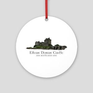 Eilean Donan Castle Ornament (Round)