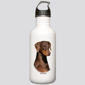 Dobermann 9Y381D-162 Stainless Water Bottle 1.0L