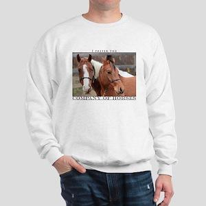 Company of Horses #1 Sweatshirt