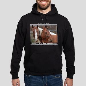 Company of Horses #1 Hoodie (dark)