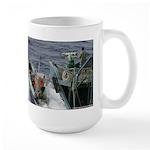 I save whales large mug