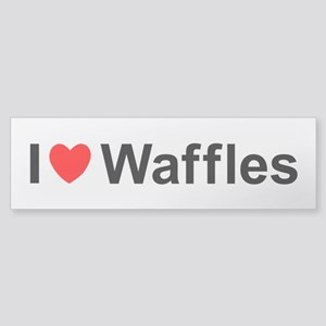 Waffles Sticker (Bumper)