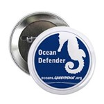 10 pack Seahorse Button