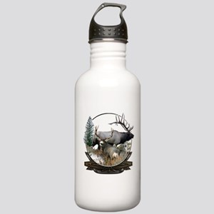 Big game elk and deer Stainless Water Bottle 1.0L