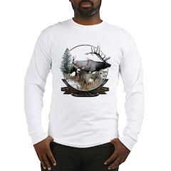Big game elk and deer Long Sleeve T-Shirt