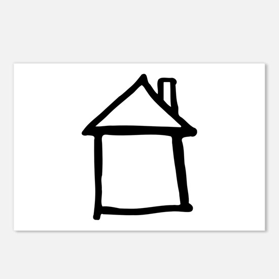 House Postcards (Package of 8)