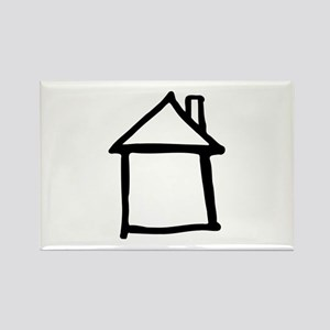House Rectangle Magnet