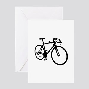 Racing bicycle Greeting Card