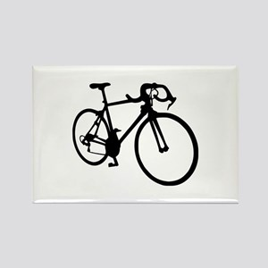 Racing bicycle Rectangle Magnet