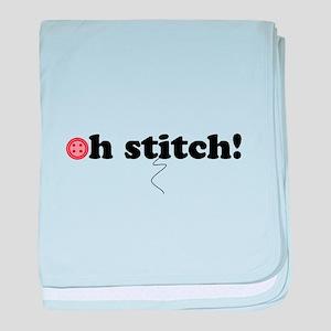 oh stitch! baby blanket