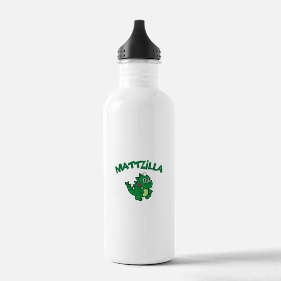 Mattzilla Water Bottle