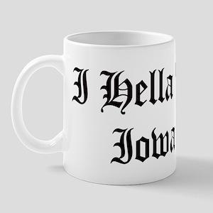 Hella Love Iowa Mug