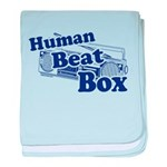 Human Beat Box baby blanket