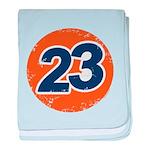 23 Logo baby blanket