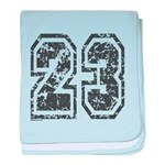 Number 23 baby blanket