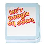 Boogie Down baby blanket