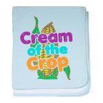 Cream of the Crop baby blanket
