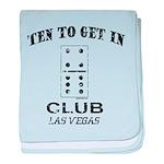 Club 10 baby blanket