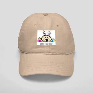 Golden Easter Bunny Cap