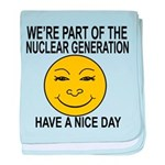 Nuclear Generation baby blanket