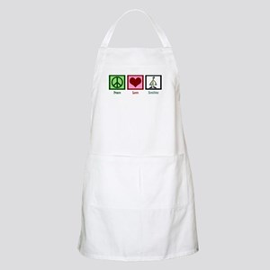 Peace Love Zombies Apron