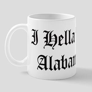 Hella Love Alabama Mug