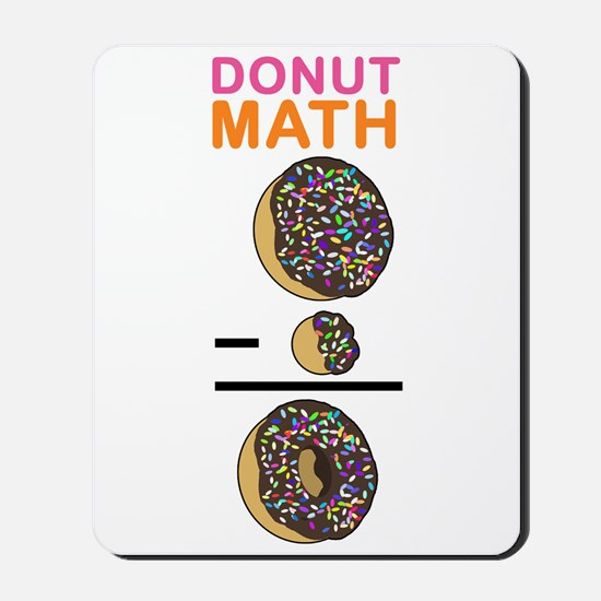 Donut Math Mousepad