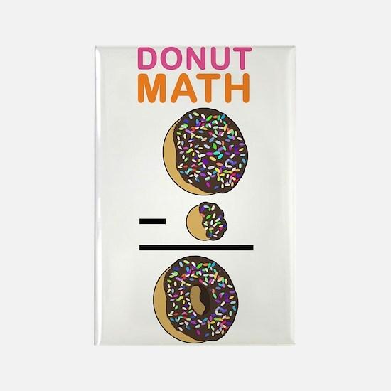 Donut Math Rectangle Magnet
