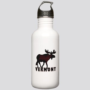 Vermont Moose Stainless Water Bottle 1.0L