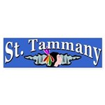 St. Tammany PArish Bumper Sticker