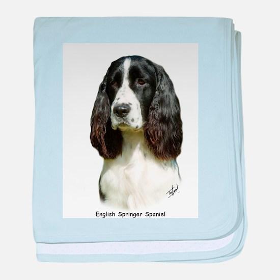 English Springer Spaniel 9J37 baby blanket